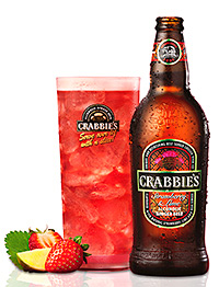 The new Strawberry & Lime Crabbie's variant.