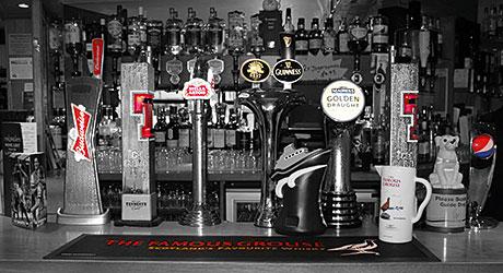The bar at Cheers