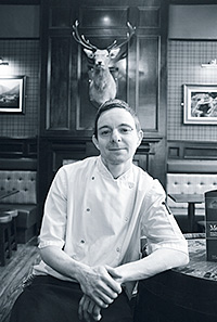 John Paul Johnston, Head chef, The Stag, Aberdeen