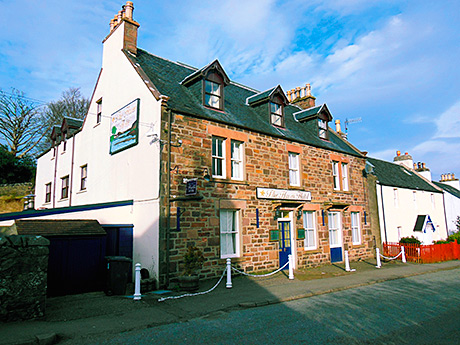 The Haven Hotel in Plockton, Ross-shire.