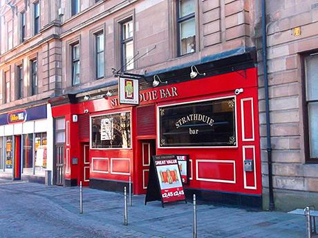 Strathduie Bar in Glasgow.