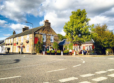 The village of Roslin received a tourism boost from famous Dan Brown novel The Da Vinci Code.